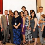 2012 Breastfeeding Friendly Model Employers honored at a public ceremony during World Breastfeeding Week.